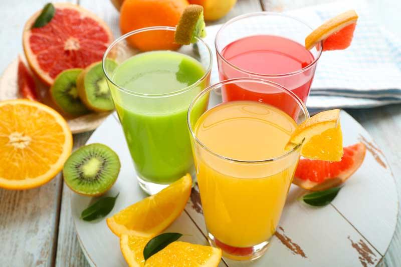 Sucul de fructe la copii
