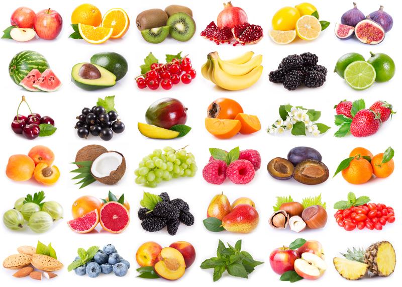 Opt fructe cu continut scazut de zahar