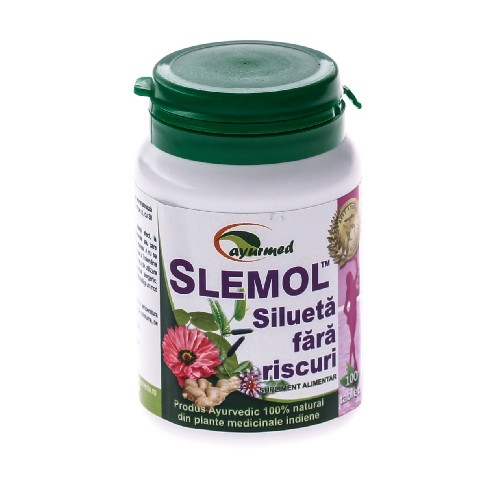 Slemol 100tablete Ayurmed