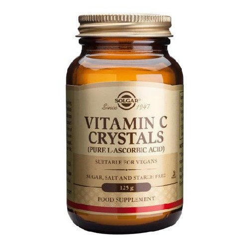 Vitamin C Crystals 125gr Solgar