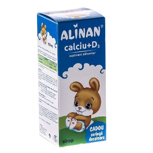 Alinan Calciu+d3 Fiterman 150ml