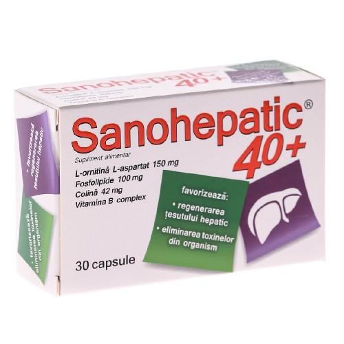 Sanohepatic 40+ Zdrovit 30cps