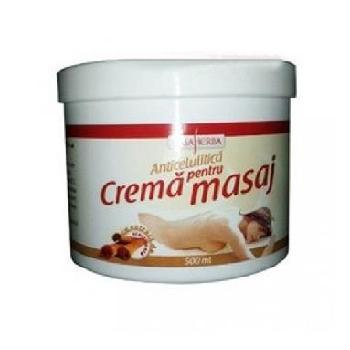 Crema Masaj Anticel Cofeina 500ml Casa Herba
