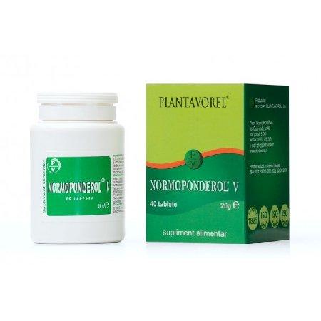Normoponderol 40tb Plantavorel
