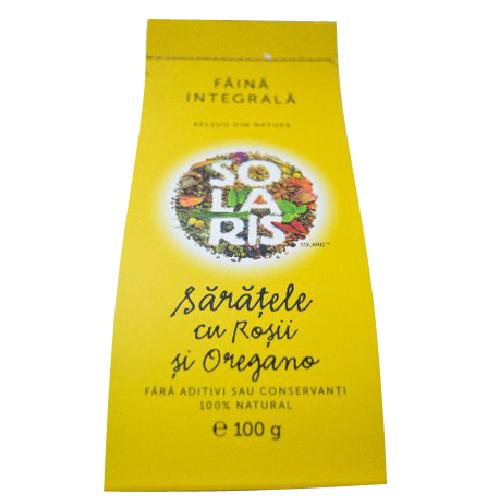 Saratele cu Rosii si Oregano 100gr Solaris