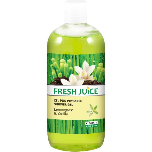 Gel de Dus Vitamin Complex cu Lemongrass si Vanilie 500ml