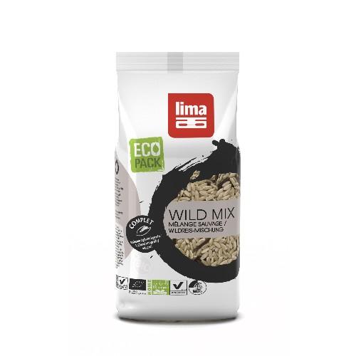 Mix de Orez Brun si Orez Salbatic Bio 500gr Lima