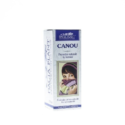 Remediu Tinctura Canou 50ml Dacia Plant