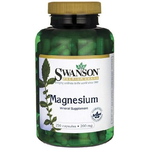 Magneziu 200mg 250cps Swanson
