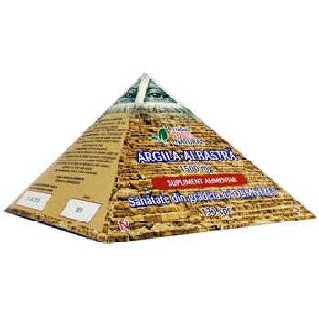 Argila Albastra Piramida 130cpr 195gr Megasupermin