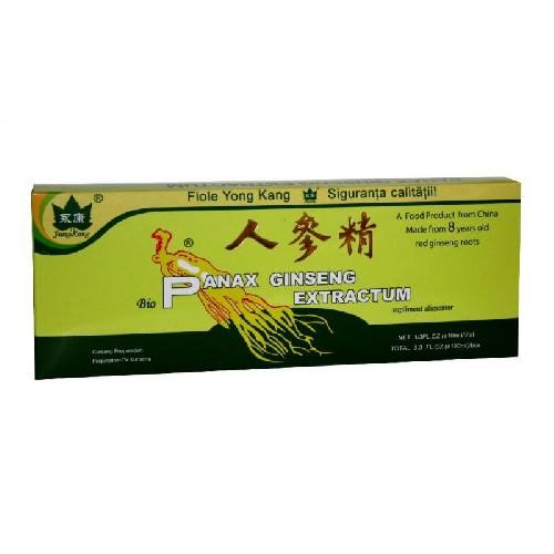Panax Ginseng 10fiole 10ml Yong Kang