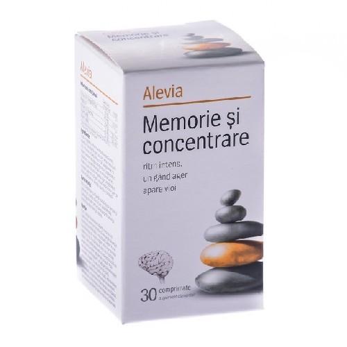 Memorie & Concentrare adult 30cpr Alevia