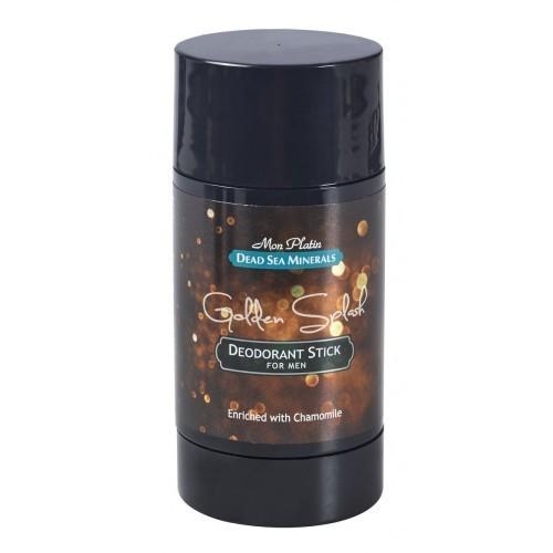 Deodorant pentru Barbati Golden Splash 80ml Mon Platin