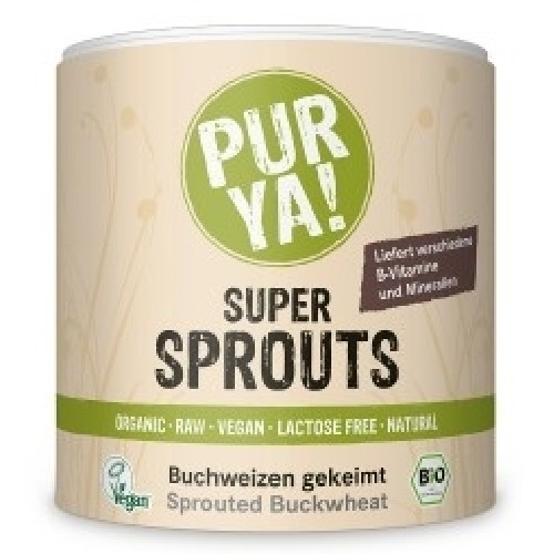 Super Sprouts - Hrisca Germinata Raw Bio 220gr Pur