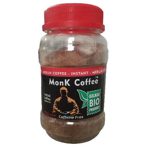 Monk Coffee (cafea instant fara cofeina) 100gr Merlin