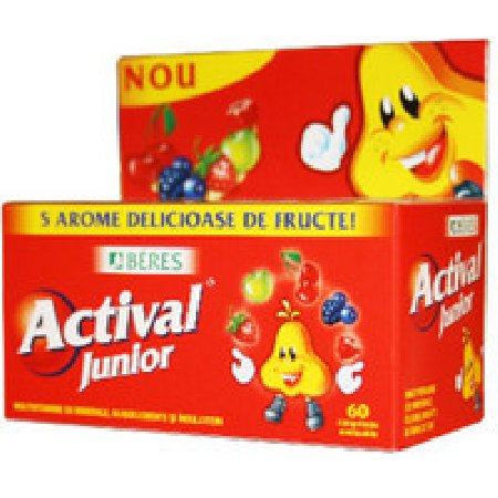 Actival Junior Gummy 50cpr Beres