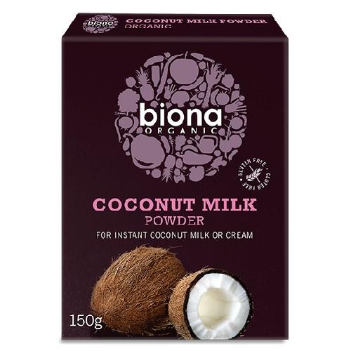 Lapte de Cocos Praf Bio 150gr Biona
