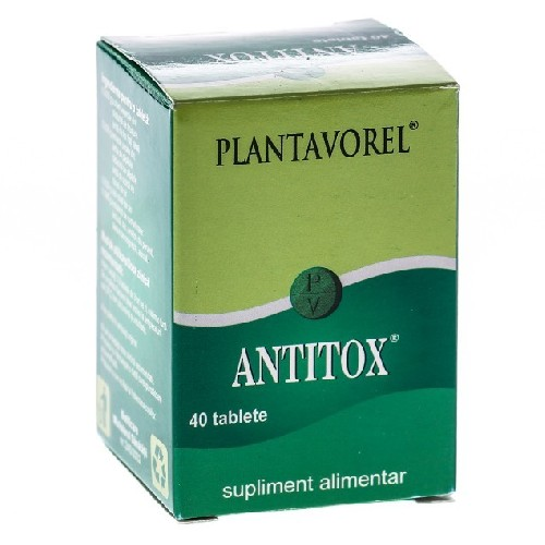 Antitox 40tablete Plantavorel