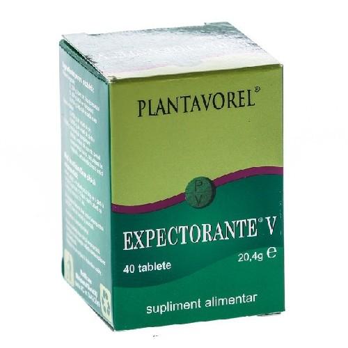 Expectorante V 40tablete Plantavorel