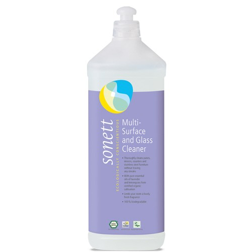 Detergent Ecologic pentru Sticla si alte Suprafete 1l Sonett