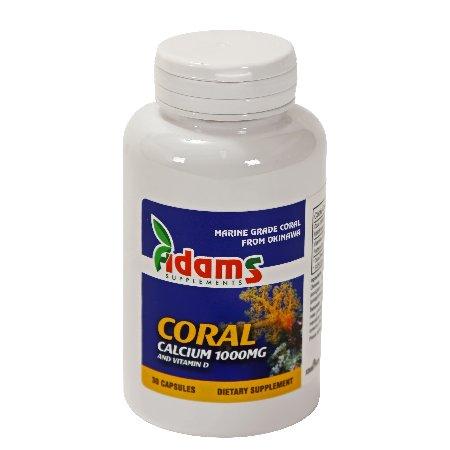Coral Calciu de Okinawa 1g 30 capsule