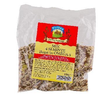 Mix 4 Seminte Omega 3 150gr Pirifan