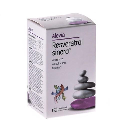 Resveratrol Sincro 60cpr Alevia