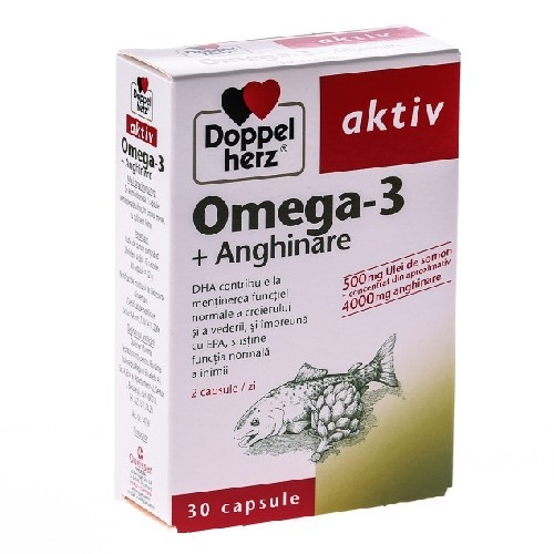Omega 3 + Anghinare 30cps Doppel Herz