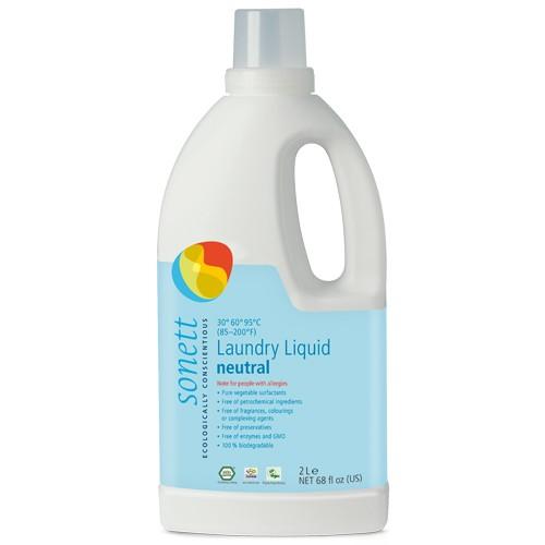 Detergent Ecologic pentru Rufe Albe si Colorate -Neutru 2l Sonet