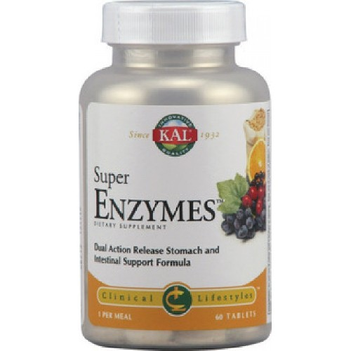 Super Enzymes 60cpr Secom