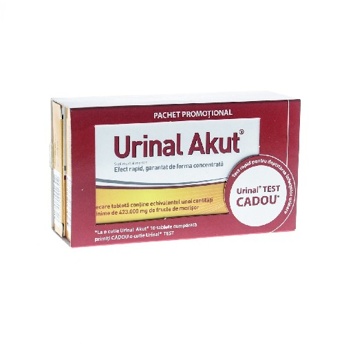 Urinal Akut 10cpr + Urinal Test