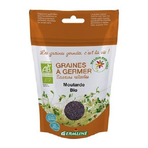Boabe de Mustar pentru Germinat Bio 100gr Germline
