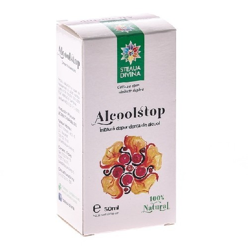 Alcoolstop 50ml Steaua Divina