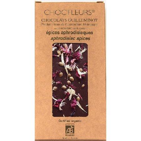 Ciocolata Neagra Condimente Afrodisiace 100gr ChocFleur