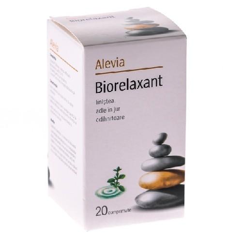 Biorelaxant 20cpr Alevia