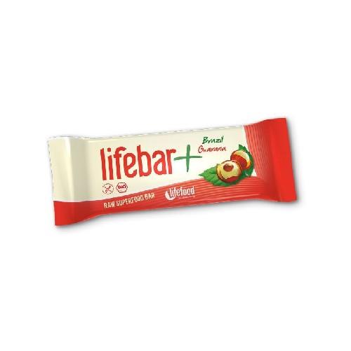 Baton Lifebar cu Nuci Braziliene si Guarana 47gr Lifefood