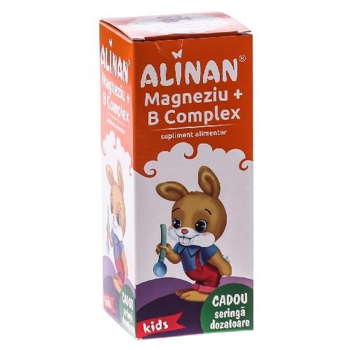 Magnezium B Complex Alinan 150ml Fiterman