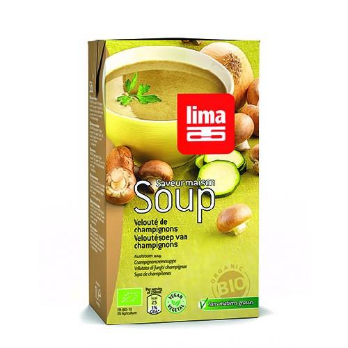 Supa Crema De Ciuperci Bio 1l Lima