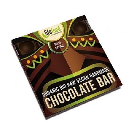 Ciocolata cu 80%cacao Raw 35g Lifefood