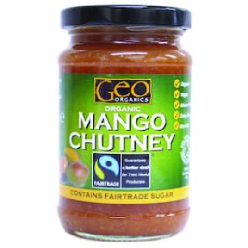 Sos De Mango Bio 300gr Geo Organics