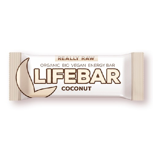 Lifebar Baton Cu Nuca De Cocos Raw Bio 47gr Lifefood