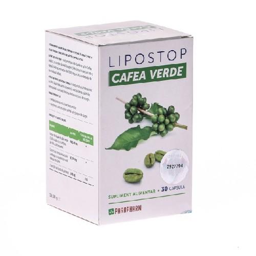 Lipostop Cafea Verde 30cps Parapharm