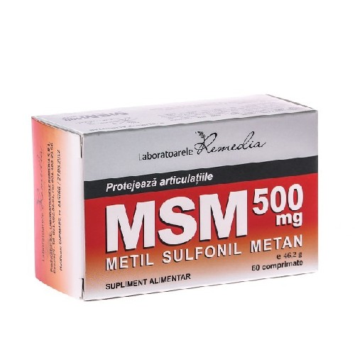 Msm 500mg 60cpr Remedia