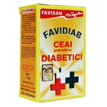 Favidiab Ceai 20gr Favisan