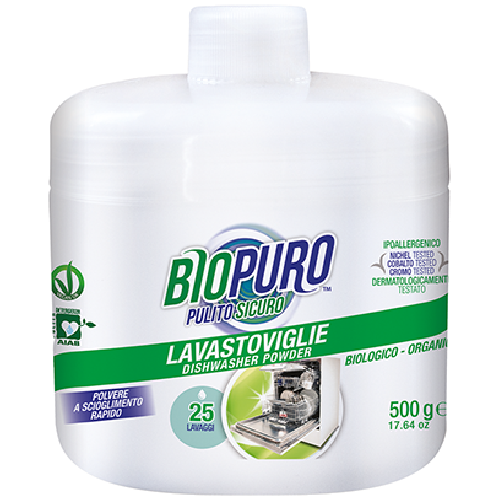 Detergent Hipoalergen Praf Bio Pentru Masina De Spalat Vase 500m