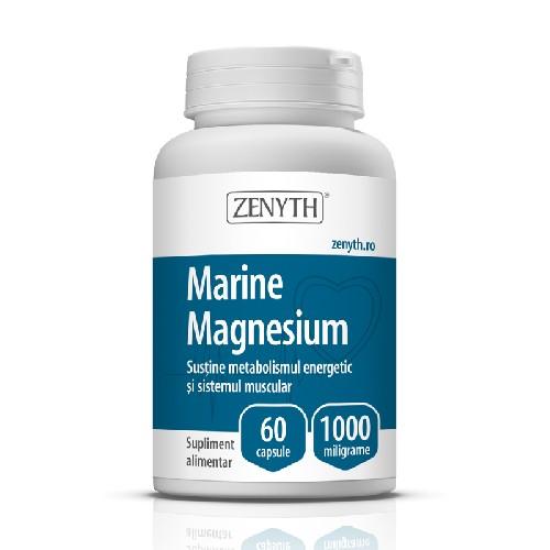 Marine Magnesium 1000mg 60cps Zenyth