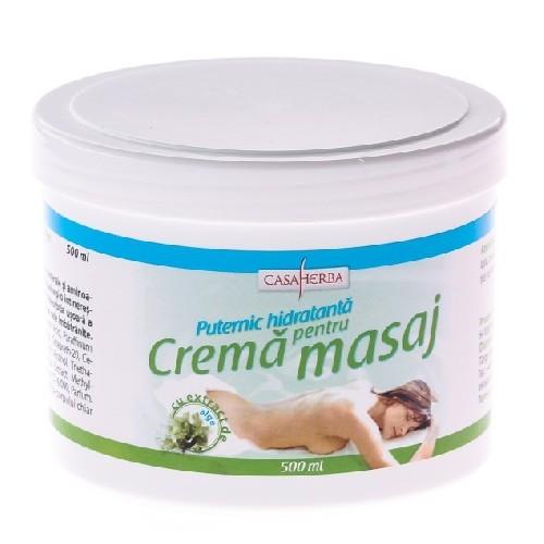Crema Masaj Hidratanta Cu Alge Marine 500ml Casa H