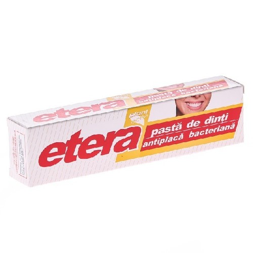 Pasta de Dinti Antiplaca Bacteriana 75ml Etera