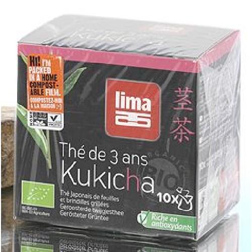Ceai Verde Japonez Kukicha BioPlic 15g 10plic Lima