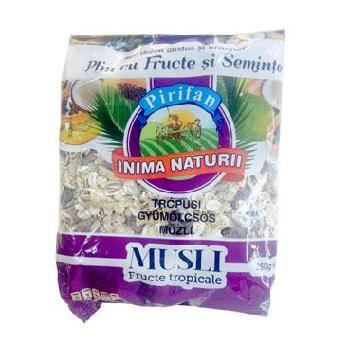Musli Fructe Tropicale 250gr Pirifan